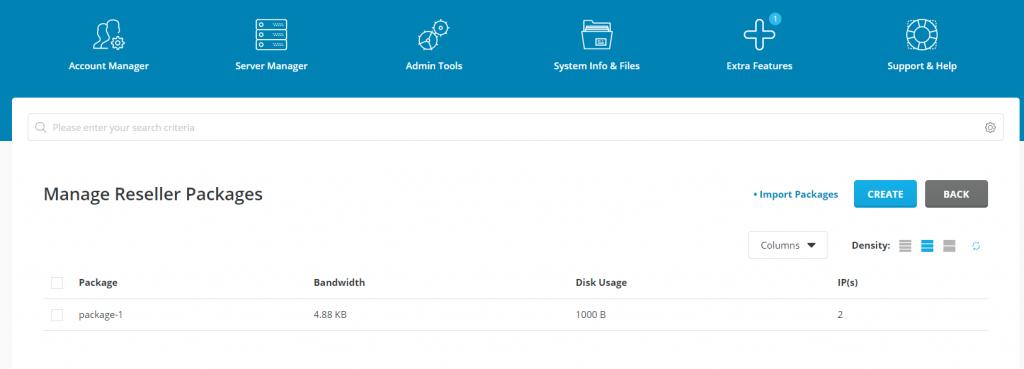Direct Admin Vm Help Screenshot